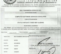 BNG Transmedia 2015 Buisness Permit