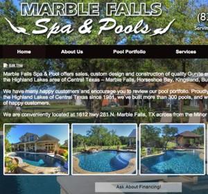 Marble Falls Spa and Pool FI