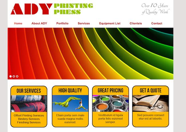 ADY Printing